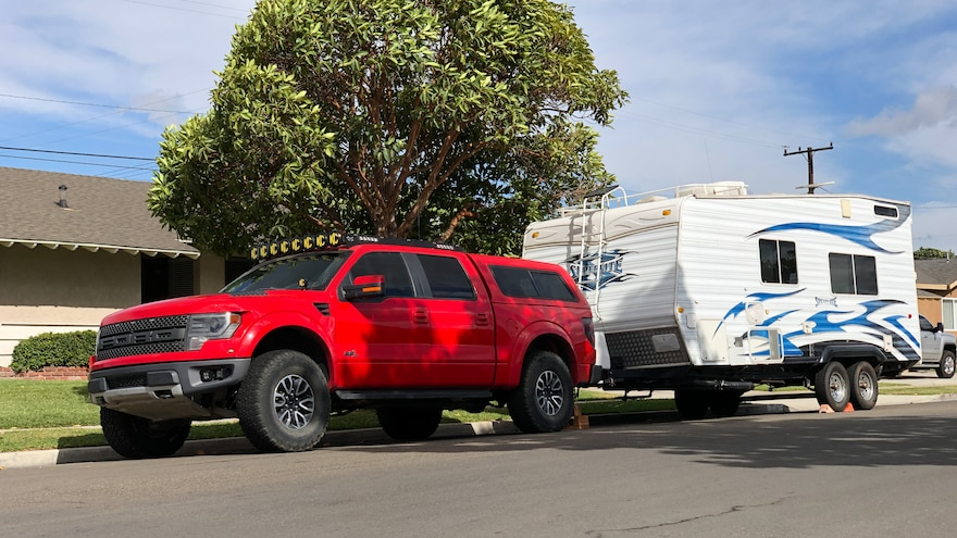 003 2013 Ford F150 Raptor Towing