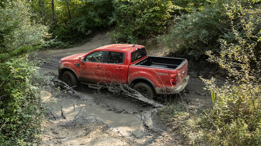 004 2021 Ford Ranger Tremor First Drive