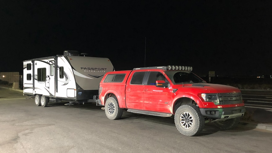 005 2013 Ford F150 Raptor Towing