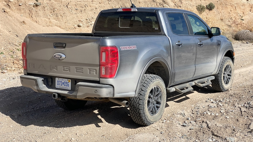 012 2021 Ford Ranger Tremor First Drive