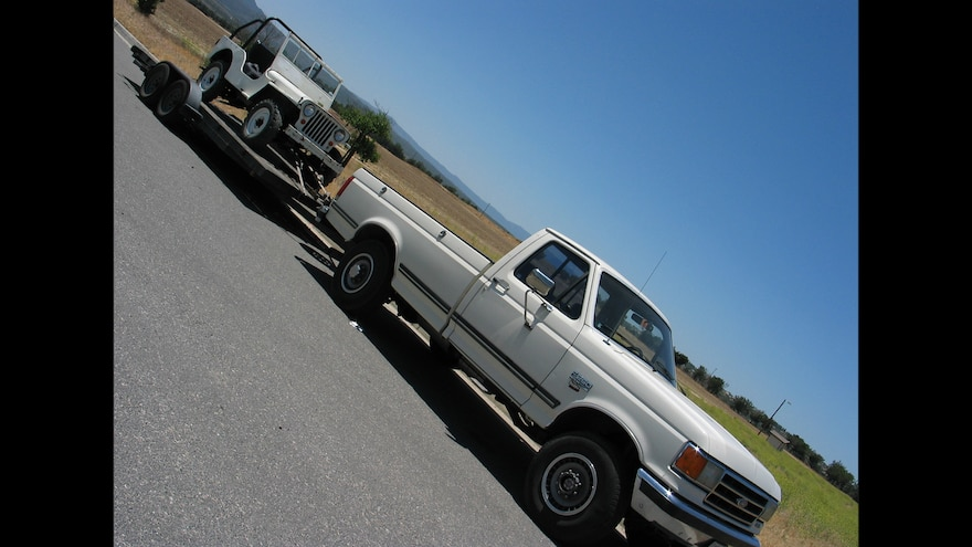 02 Ford F 250 Tow Vehicle