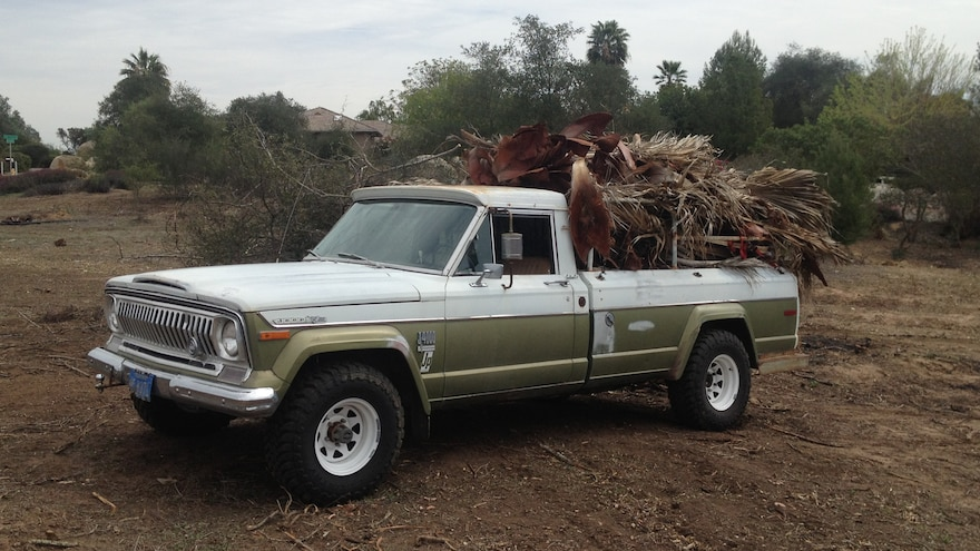 03 Classic 1972 Jeep J4000 Farm And Ranch Truck