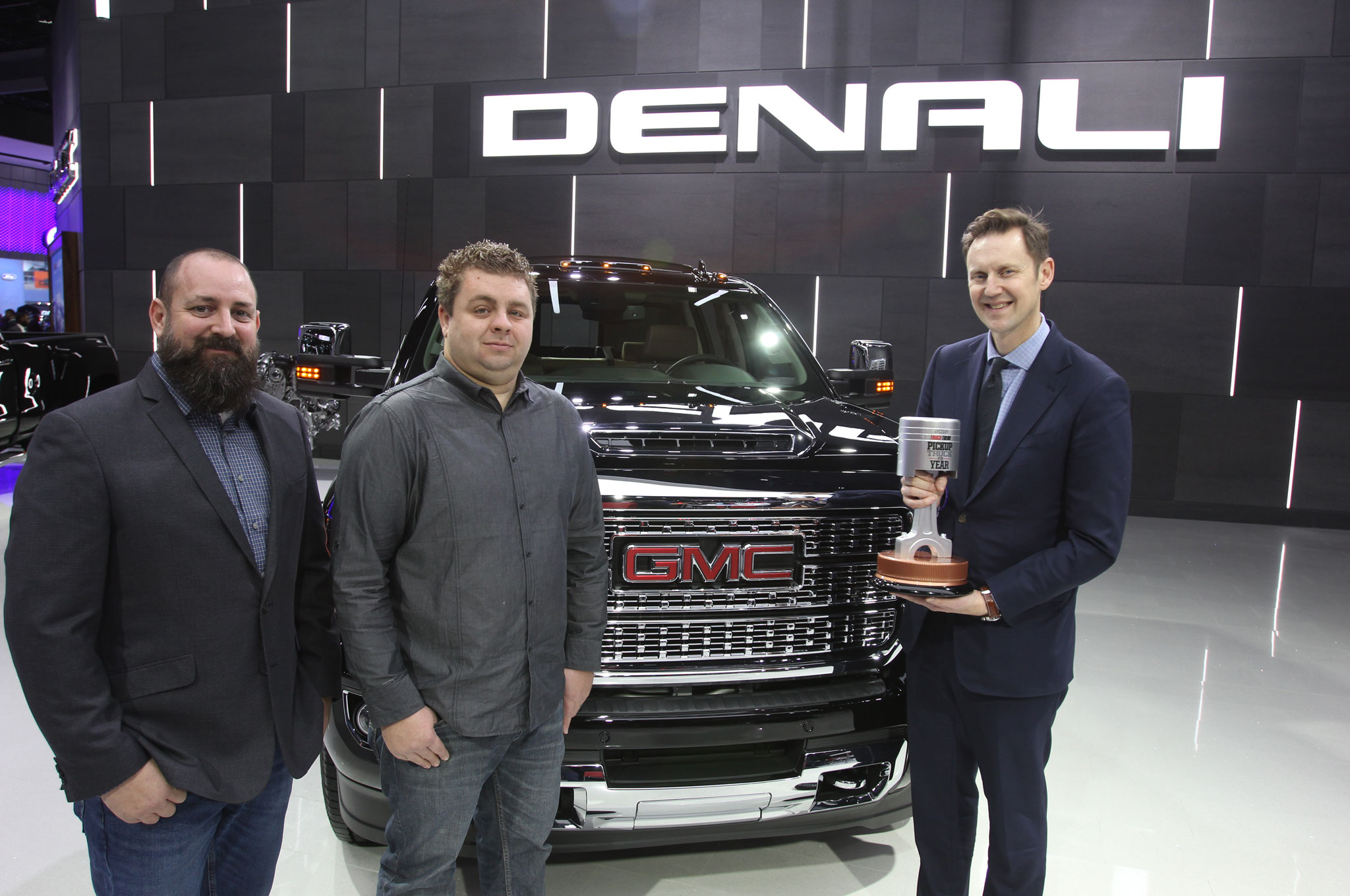 The Handoff: Presenting our 2018 Pickup Truck of the Year to the GMC Sierra 2500HD Denali
