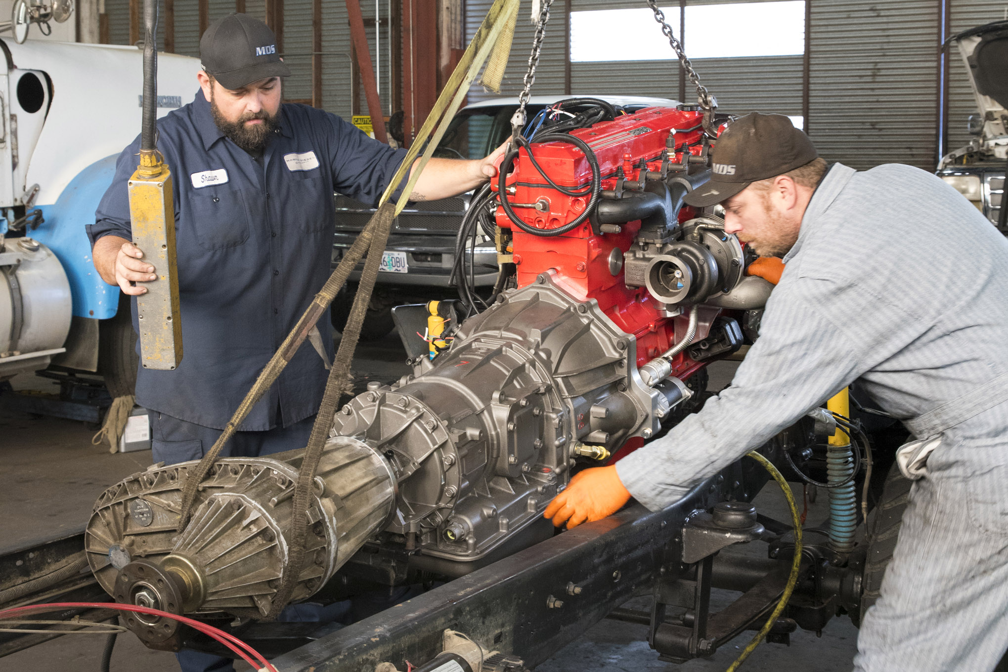 4 Cylinder Diesel Engine Swap