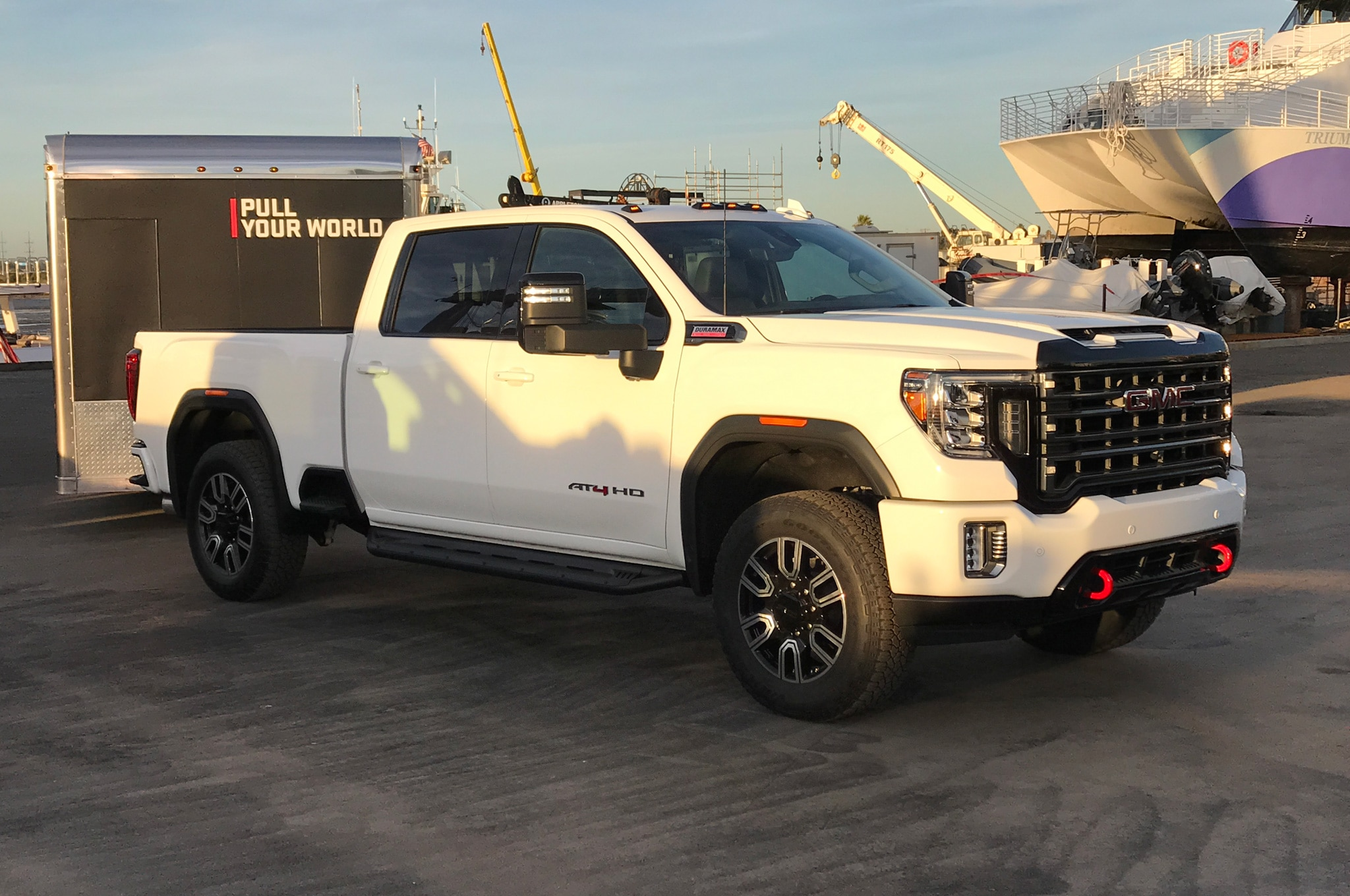 First Look 2020 Gmc Sierra Hd Revealed In San Diego