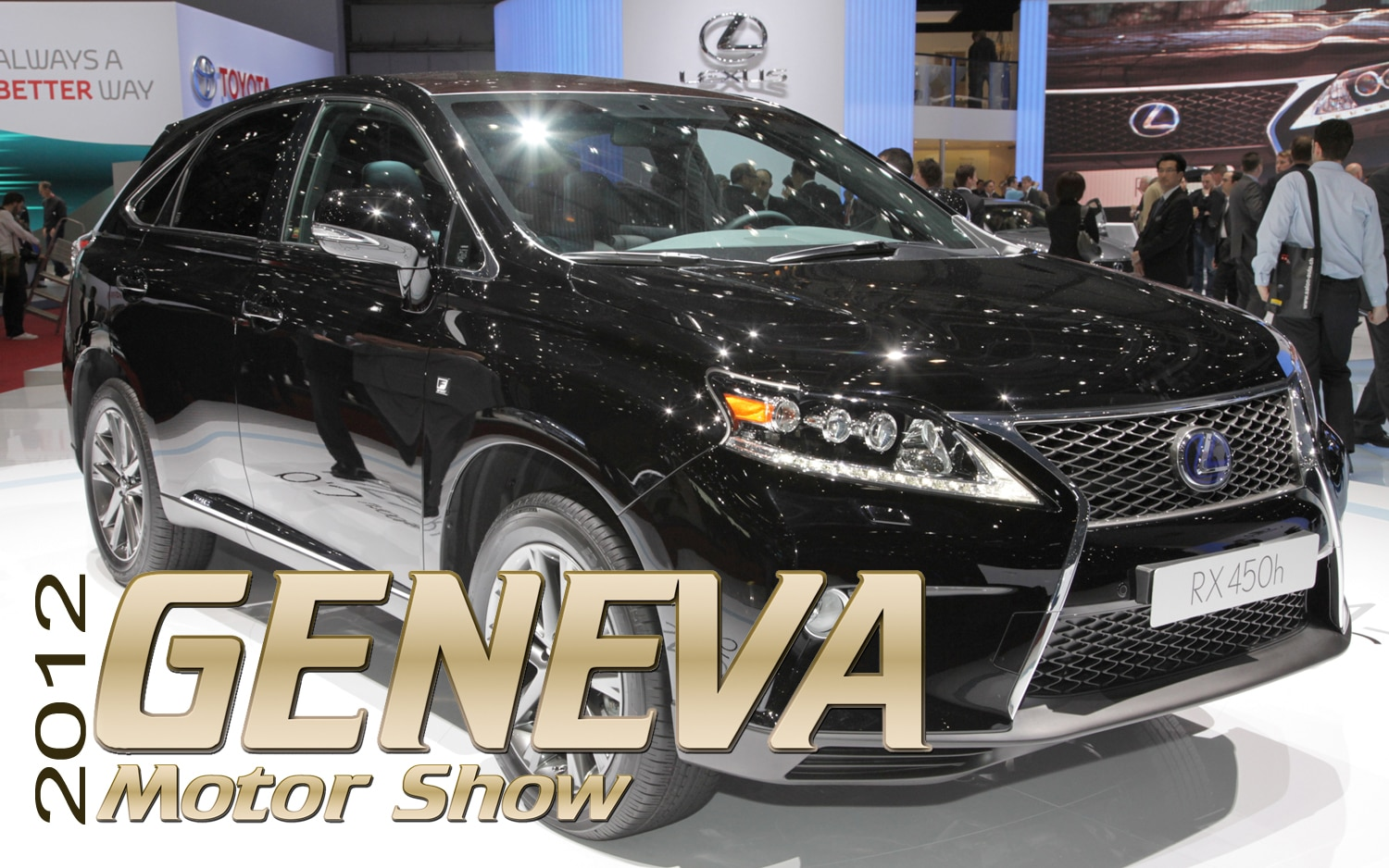 2012 Geneva: 2013 Lexus RX 350 and RX 450h First Look