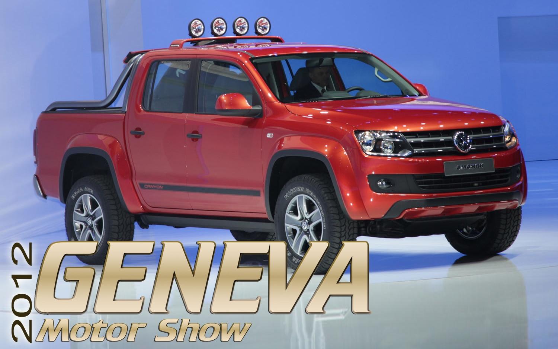 2012 Geneva: Volkswagen Amarok Canyon Concept