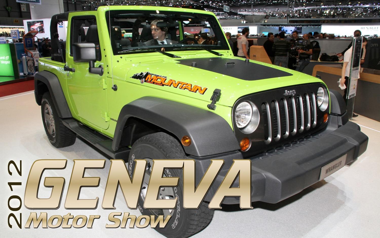 2012 Geneva: Special Edition Jeep Wrangler, Grand Cherokee, Compass