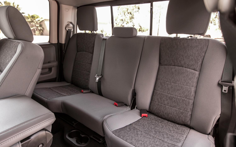 2013 Ram 1500 SLT Quad Cab vs. Ford F-150 XLT SuperCab Comparison - Truck Trend