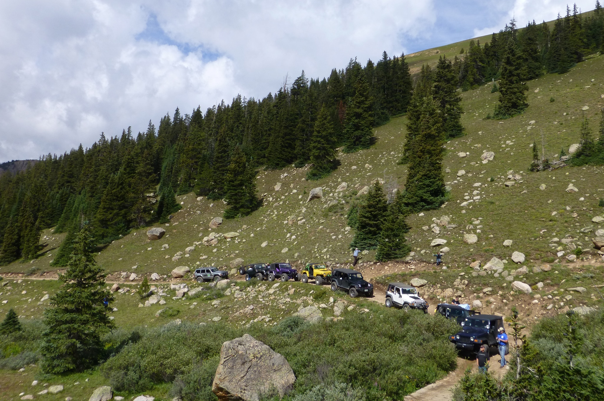 The First Annual Roof of the Rockies Jeep Jamboree - Truck ...