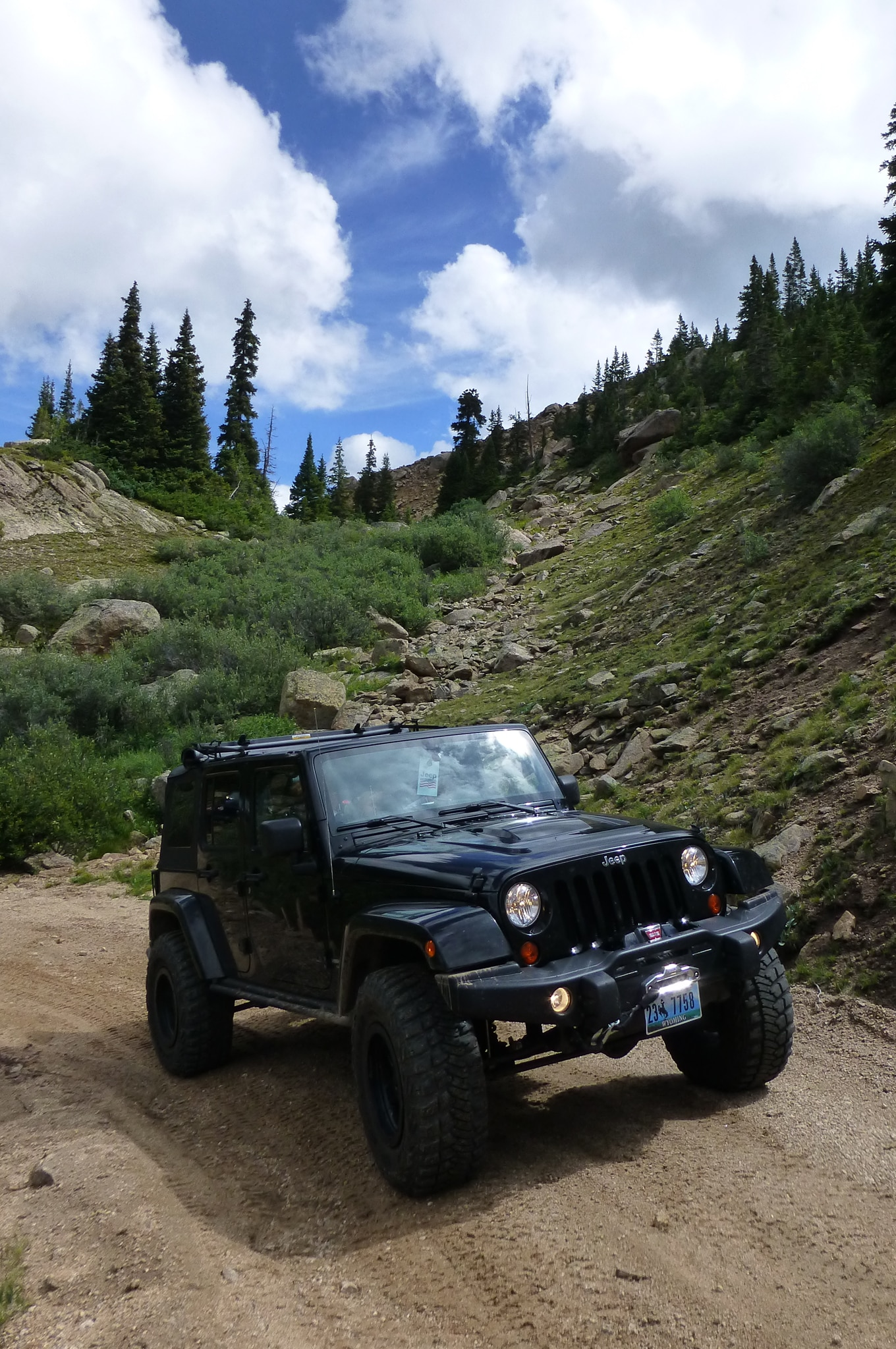 the first annual roof of the rockies jeep jamboree - truck