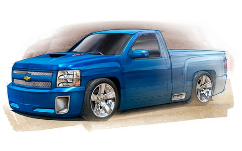 Gm Bringing Tricked Out Trucks Utes Roadsters And More To Sema Show Photo Image Gallery