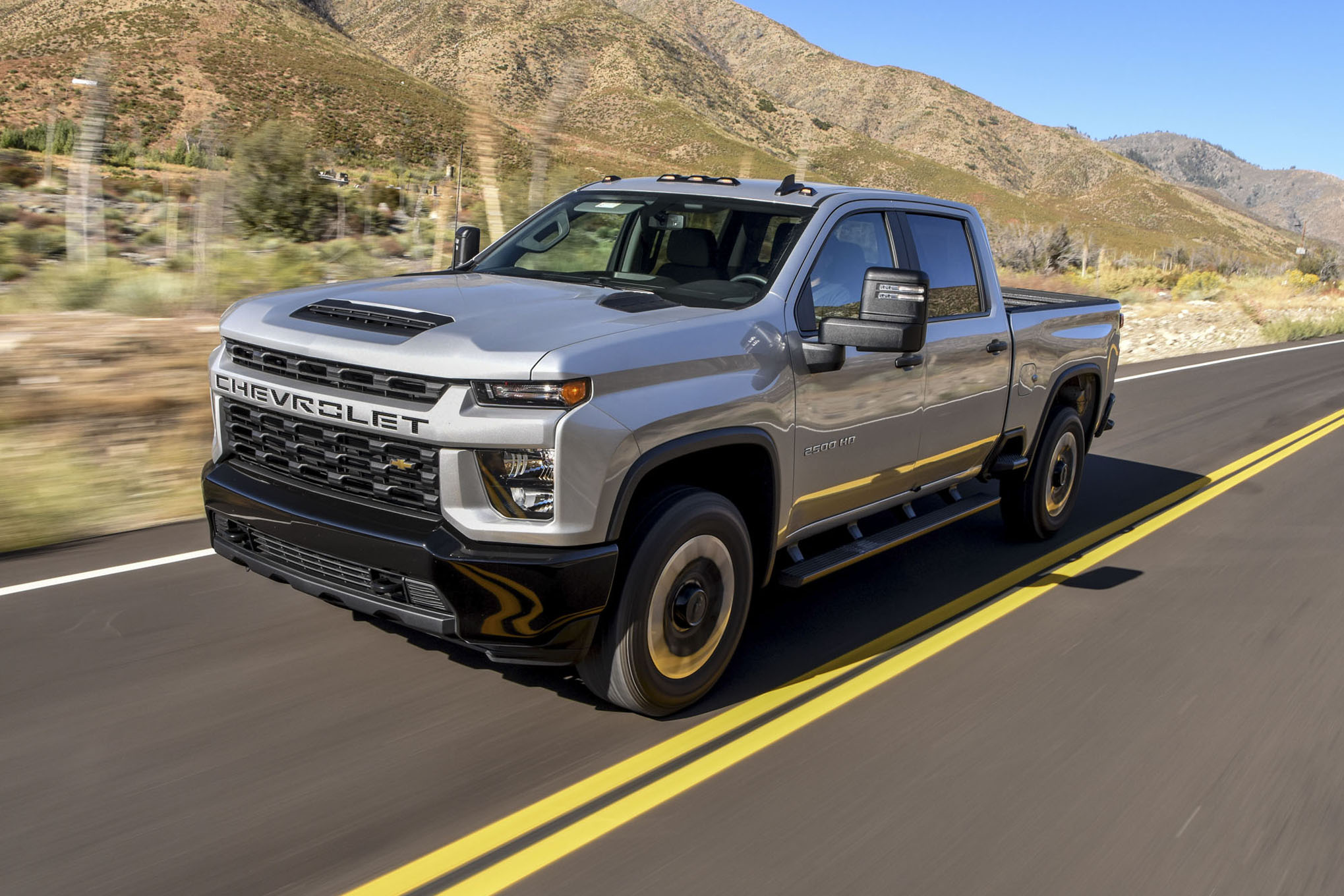 2020 chevrolet silverado 2500hd custom: 2020 pickup truck