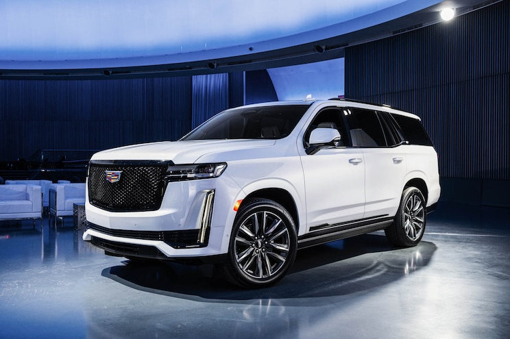 2021 cadillac escalade technology: industry firsts for the
