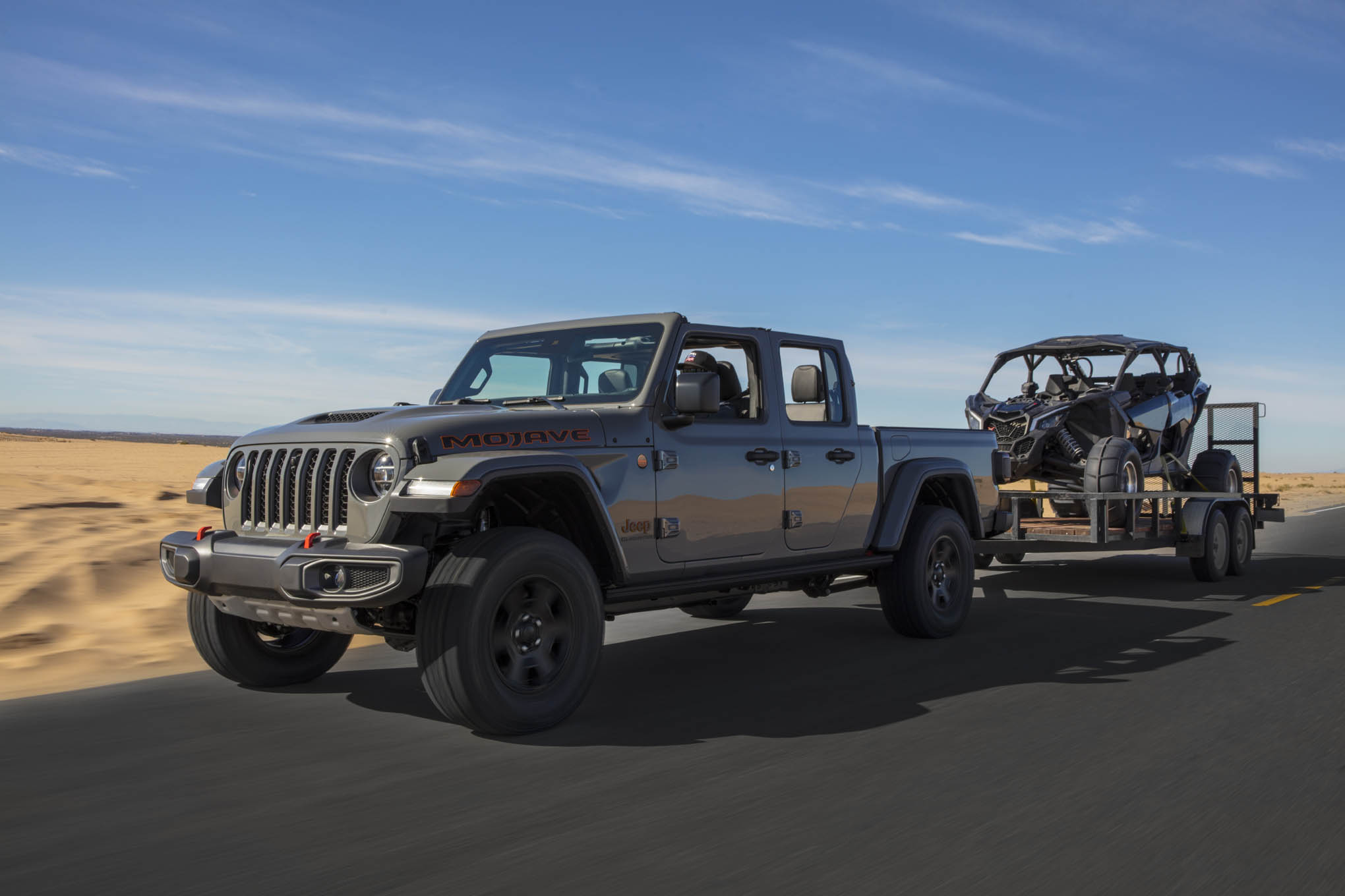 2020 jeep gladiator mojave compared with gladiator rubicon