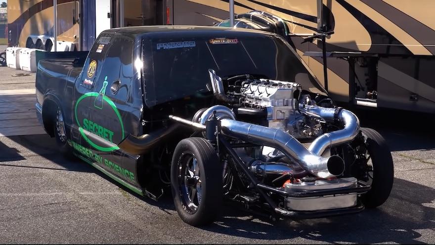 Firepunk Diesel 3-Next Chevrolet S-10 Cummins Drag Truck